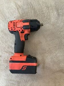 Snap On Ct8810ao 18v Lithium Impact Wrench 3 8 Drive Orange One Battery
