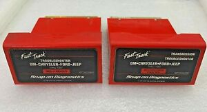 1997 Snap On Mt2500 Scanner Us Domestic Troubleshooter Transmission Cartridges