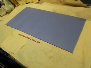 Abs Gray Plastic Sheet 1 8 X 12 X 24 Textured Vacuum Thermoforming Machinable
