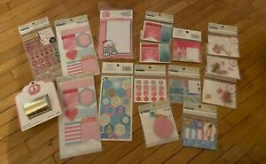 Huge Lot Of Planner Accessories Sticky Notes Stickers Embellishments