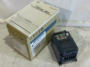 Fuji 1 8hp Vfd Frnf12c1s 7u Input 230vac 1ph 60hz Output 230vac 3ph