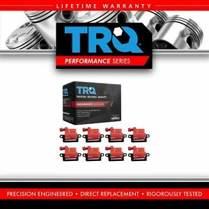 Trq Premium High Performance Engine Ignition Coil Set For Chevy Gmc Cadillac