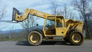 Gehl Telehandler Dl 6l Forklift Heavy Equipment Construction