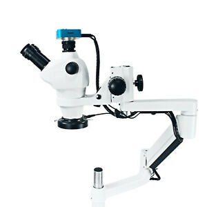 Dental Microscope With Camera Continuous Zoom For Optional Dental Chair Unit