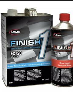 Acme Fc720 1 Ultimate Overall Clearcoat Gallon Kit W 1 M Or F Or S Hardner