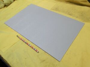 Abs Gray Plastic Sheet 1 8 X 12 X 18 Textured Vacuum Thermoforming Machinable