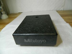 Mitutoyo Granite Base Only 200mm Base Length 150mm Base Width 50mm Base Height