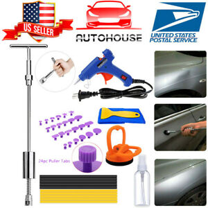 Paintless Car Dent Removal Repair Puller Kit Hail Damage Hammer Lifter Dent Tool