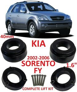 Lift Kit For Kia Sorento Fy 2002 2006 1 6 40mm Strut Spacers Leveling Complete