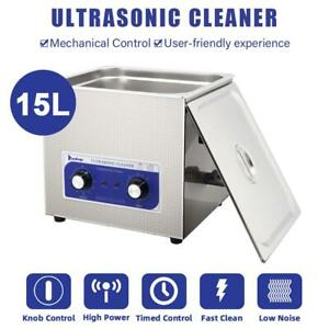15l Multipurpose Ultrasonic Cleaner For Cleaning Jewelry Dentures Small Parts