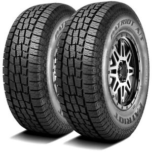 2 New Patriot A t 265 70r15 112s At All Terrain Tires