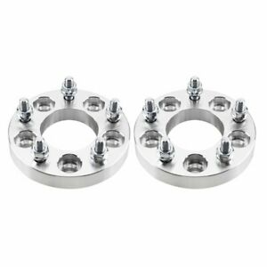 2pcs Wheel Spacers Adapters 5x4 5 To 5x4 75 1 Thick 5x114 3 To 5x120 12x1 5