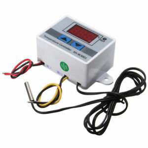 New Xh w3001 Digital Led Temperature Controller Thermostat Control Switch Le0648