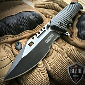 8.5quot; TAC FORCE SPRING OPEN ASSISTED TACTICAL FOLDING POCKET KNIFE Rescue Blade $14.95
