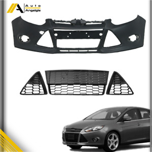 For Ford Focus 2012 2013 2014 Front Bumper Cover Front Lower Honeycomb Grille
