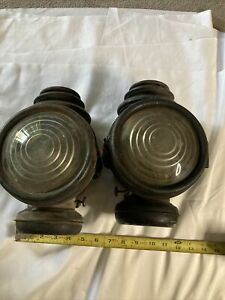 Ford Model T Cowl Lamps Side Lights Corcoran Model T Ford Vintage Antique Auto