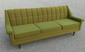 Mid Century Modern Sofa Couch 60 Years Old But Still Looks New