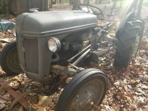 1941 9n Ford Tractor W Plow For Sale