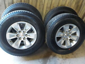 4 Chevy Silverado Factory 17 Wheels Tires 1500 6 Lug 39j Gmc Sierra 2021