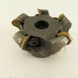 3 1 2 Indexable 5 Tool Shell face Mill 1 Arbor