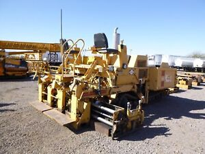 1996 Blaw knox Pf410 Crawler Asphalt Paver Sold As is For Parts 2996