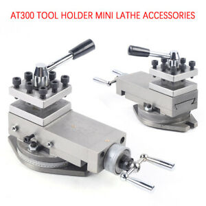 Mini Lathe Accessories At300 Tool Holder Metal Change Lathe Assembly Metalwork