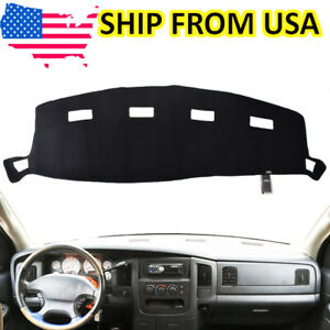 For Dodge Ram 1500 2500 3500 2002 2005 Dash Cover Mat Dashmat Black 2003