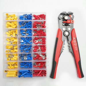Self Adjustable Insulation Wire Stripper Cutter Crimper Cable Stripping Tools 8