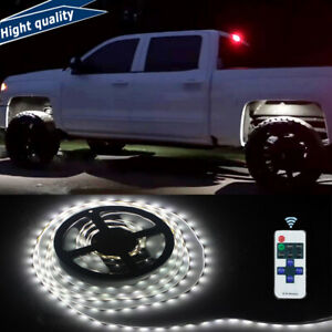 5m 300 Led Lights Underbody Glow Under Car White Neon Accent For Chevy Silverado