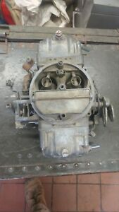 Holley 4 Barrel 800 Cfm Carburetor For Parts Or Rebuilding