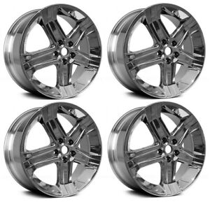 New Set Of 4 22 X 9 Polished Replacement Wheel Rim 2011 2018 Dodge Ram 1500