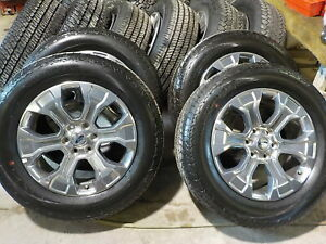 4 Ford 2021 F150 Platinum Factory 20 Wheels Tires 413j