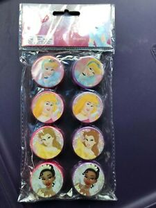 Brand New Disney 8 Pack Sharpeners For A Little Princess Pencils