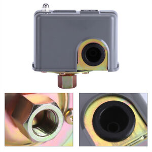 40 60psi Adjustable Pressure Switch Well Water Pump Control W Spring Pole Usa