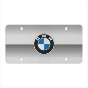 Bmw Marque Plates Polished Stainless Steel