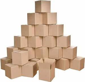 Shipping Boxes Corrugated Cardboard Box Mailer Gift Boxes 4x4x4