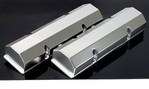 Sbc Chevy Fabricated Tall Aluminum Valve Covers No Acc Holes 6147