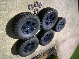 Jeep Wrangler Unlimited Firestone M t2 35 X 18 X 12 5 Mud Tires With Wheels