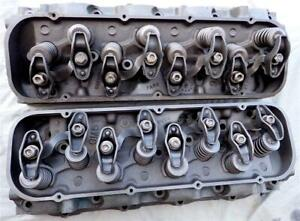 Big Block Chevy Large Oval Port Heads 3904390 67 396 325hp 350hp 427 390hp 400hp