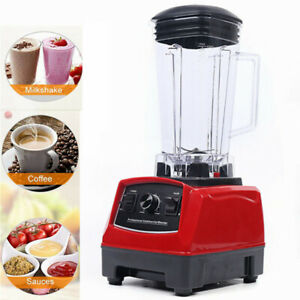 Professional Power Blender Plastic Heavy Duty Commercial Blender Mixer Juicer Us