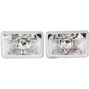 Headlight For 76 88 Chevrolet Monte Carlo Pair Driver And Passenger Side
