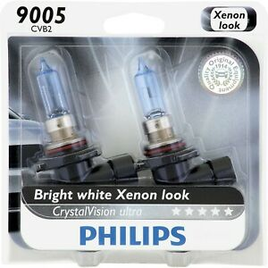 9005cvb2 Philips New Set Of 2 Head Light Driving Headlamp Headlight Bulbs Pair