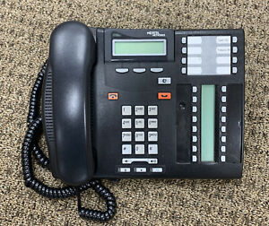 Nortel Networks t7316e Business Telephone charcoal Tested And Working