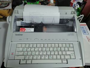 Brother Gx 6750 Daisywheel Electronic Typewriter Tested Works Great