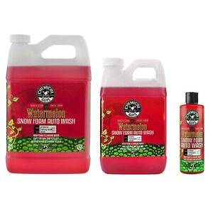 Chemical Guys Cws208 Watermelon Snow Foam Cleanser Car Soap limited Edition