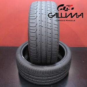 2x Tires Great Pirelli P Zero 255 35 20 255 35r20 2553520 97y 57125