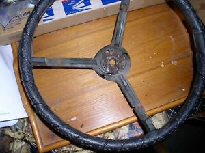 1970 Mopar B Body Steering Wheel Dodge Charger Super Bee Used Original