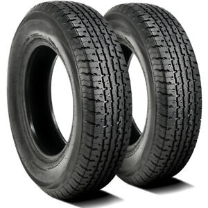 2 Trailer Master St Radial All Steel St 225 90r16 Load G 14 Ply Trailer Tires