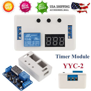 12v Dc Led Adjustable Automation Delay Timer Control Switch Relay Module O2h1