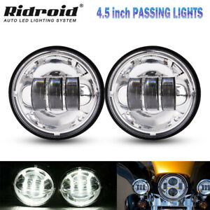 4 5 Inch Led Headlight Round Driving Passing Auxiliary Work Light Fog Lamp 3000l